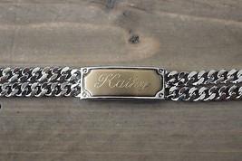 Vintage Speidel KATHY ID Bracelet Gold Plated - $39.60