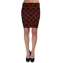 Traditional African Print Bodycon Skirt - $35.00