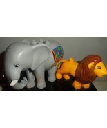Lego Duplo Elephant And Lion Lot - $9.95