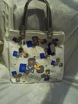NWT/COACH/POPPY CHAN/SILVER/TOTE/HANDBAG/BAG/PURSE - $200.00