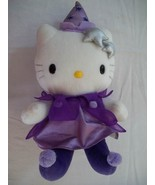 "Hello Kitty Sanrio 10""Stuffed Animal  in Purple Dress and Hat-Princess - $10.99"