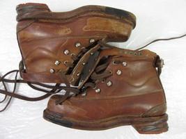 Vintage Walder Te-Ma Expert Boots Brown Germany 1312 40 7 15 - $46.74