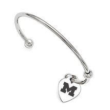 George Mason Patriots Infinity Bangle Bracelet with - $49.00