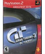 PlayStation 2 -Greatesr Hits Gran Turismo 3 A-Spec - $6.95