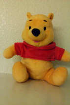 Fisher Price 9in. Plush Pooh From Winnie The Pooh  - $8.95