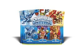 Skylanders Spyro Adventure Triple Pack (Whirlwind, Double Trouble, Drill... - $10.00