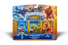 Skylanders Giants Battle Pack: Zap - Scorpion Striker - Hot Dog - $15.00