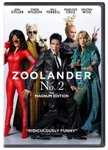 Zoolander No. 2: The Magnum Edition (2016) DVD New - $12.95