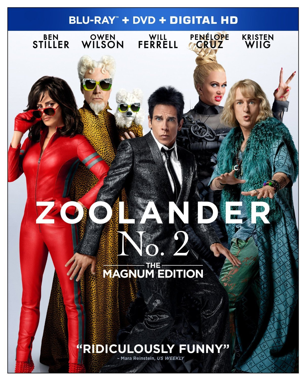 Zoolander No. 2: The Magnum Edition (2016) [Blu-ray] New