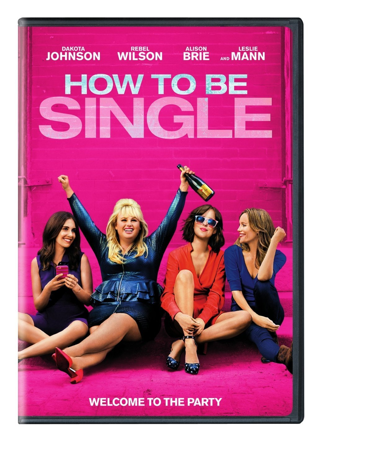 How To Be Single (2016) DVD New