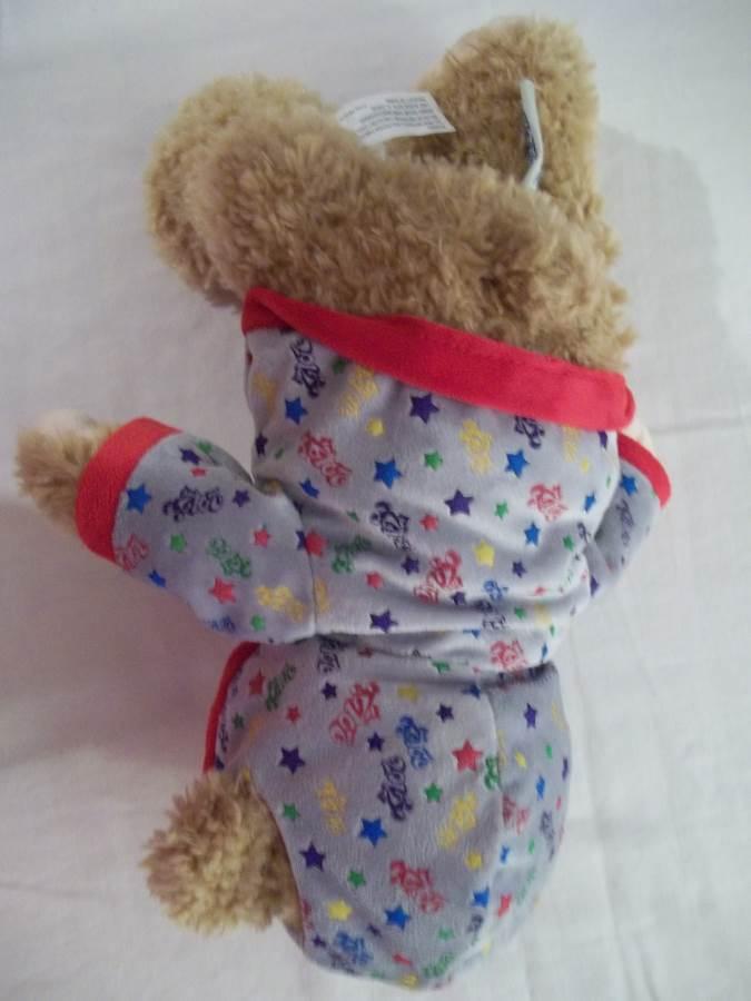 DUFFY Disney Parks 2012 Stuffed Bear with Hoodie - NWOT