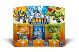 Skylanders Giants Triple Pack Ignitor, Chill, and Zook - $15.00