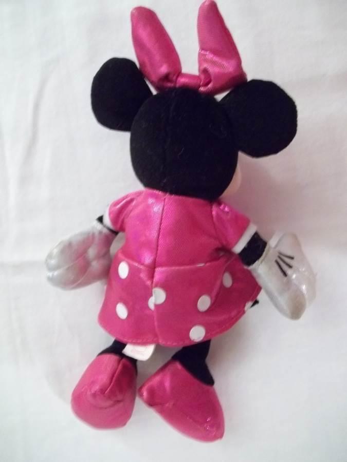"Ty 7""  Sparkle Minnie Mouse Stuffed Animal"