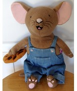 Kohls Cares If You Give A Mouse A Cookie Plush Blue Jean Overalls Stuffed Toy - $23.99