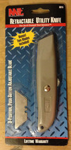 RETRACTABLE UTILITY KNIFE BY MICHIGAN INDUSTRIAL TOOLS, NEW - $4.49