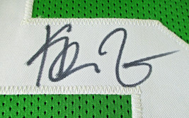 KEVIN GARNETT / NBA CHAMPION / AUTOGRAPHED BOSTON CELTICS CUSTOM JERSEY / COA image 4