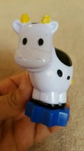 Plastic Cow Toy Figurine Figurine Cake Topper • Pre-owned • good condition - $13.81