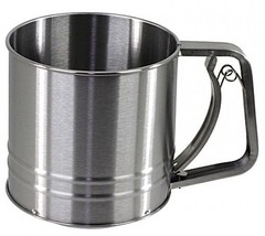 Salt 3-Cup Stainless Steel Flour Sifter - $25.69