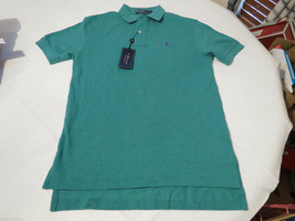 Polo Ralph Lauren The Mesh shirt short sleeve Men's 4392691 S diver gree... - $40.64