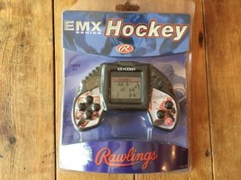 RAWLINGS ICE HOCKEY ELECTRONIC HANDHELD LCD TOY GAME EMX new! - $31.63