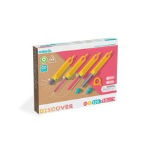 MAKEDO DISCOVER Toolbox - Cardboard Construction STEM Building Tool Kit for Kids - $59.99