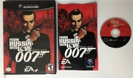 ☆ Bond 007 From Russia With Love (Nintendo GameCube 2005) COMPLETE in Ca... - $16.92
