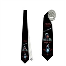 necktie donnie darko rabbit costume suit wake up frank horror  neck tie - $22.00