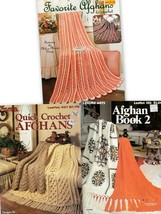 Favorite Afghans to Crochet, Afghan Book 2, Quick Crochet Afghans #102,4... - $5.95