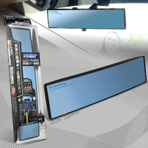 Broadway 300MM Wide Convex Interior Clip On Rear View Blue Mirror Univer... - $11.29
