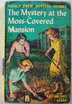Nancy Drew no.18 Mystery of the Moss-Covered Mansion pc Carolyn Keene - $10.00