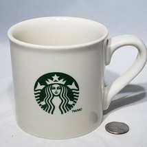 Starbucks 14 oz Green Siren Mermaid Ceramic Coffee Tea Mug Cup Off White 2013 - $18.95