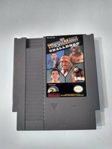WWF WrestleMania Challenge NES 1990 Video Game *Not Tested* - $5.64
