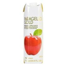 Faragello Gold Premium Apple Juice - 2 Cases----Each Bottle Is 12 X(1LT) - $50.08