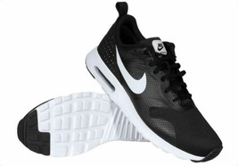 New Nike Air Max Tavas 705149-009 Black/White Running Shoes Men - $110.00
