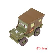 "Disney Pixar Cars 2 ""Sarge"" Diecast Vehicle Kids Toys  - $8.58"
