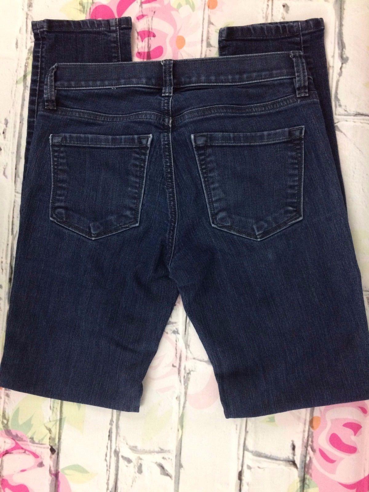 Ann Taylor LOFT Denim Blue Jeans Modern Skinny Stretch Size 26/2