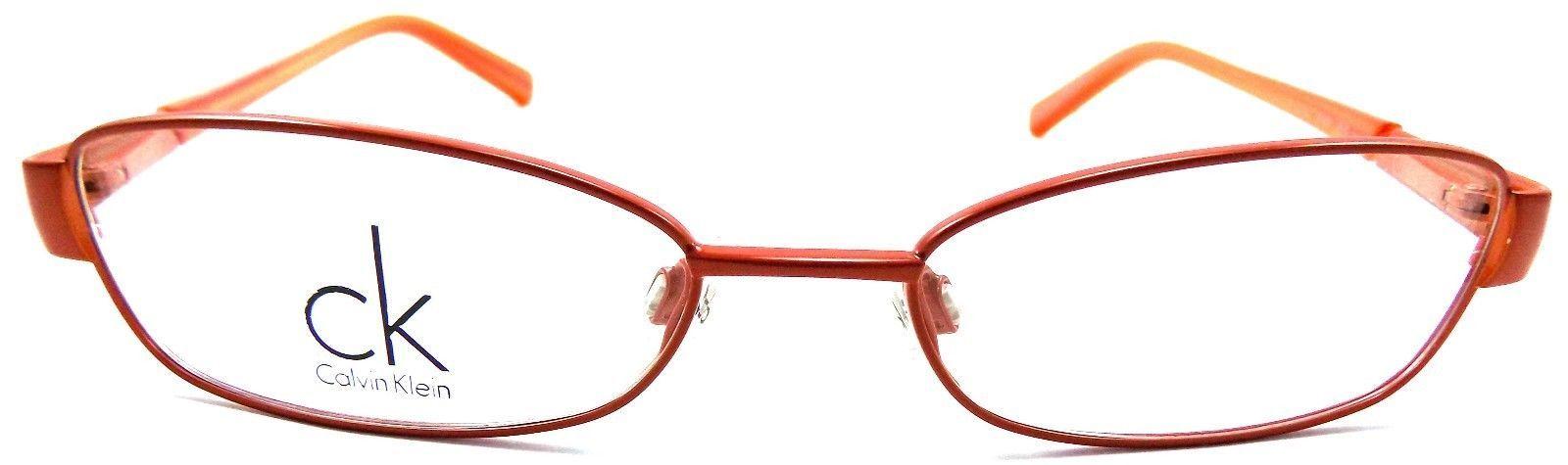 Calvin Klein CK 5149 810 Women's Eyeglasses Frames 51-16-135 Satin Orange