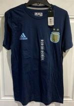 Lionel Messi Argentina Futbol #10 Soccer Adidas Navy Mens Performance Te... - $25.00