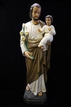 "25.5"" Saint Joseph with Baby Jesus Catholic Statue Religious Gift Made in Italy - $169.95"