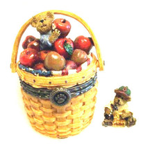 "Boyds Treasure Box ""Kenny's Apple Basket"" #392131LB- Longaberger LE-NIB-2006 - $79.99"