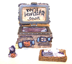 "Boyds Bears Treasure Box ""Boris' Haunted House w/Wiz Mcnibble"" #392114-1... - $39.99"