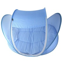 Foldable Baby Crib Padded Mattress n Pillow Portable Travel Tent Shelter - $40.69+