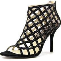 Michael Kors Yvonne Open Toe Caged Bootie Sandl... - $73.69
