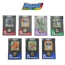 Bandai DDP Chip Digimon Accel Digimon Data Plate File Digivice Set of 7 Various - $54.45