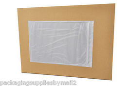 "9000 Clear Packing List Envelopes 7"" x 10"" Back... - $470.20"