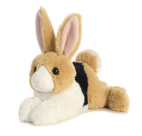 Aurora World Flopsie Animal Plush, Demi Dutch Tri Color
