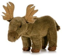 "Aurora Plush 19"" Moose Wildlife - $21.29"