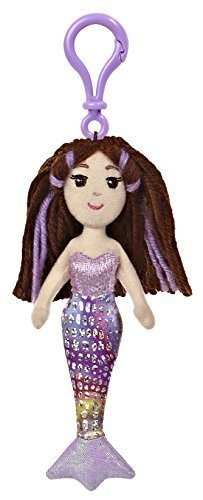 "Merrisa Clip-On ~6.5"" Mini-Plush: Sea Sparkles Mermaid Plush Doll Series"