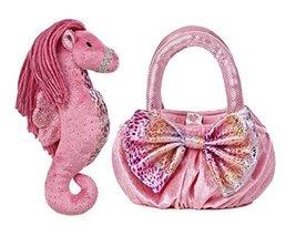 Aurora World Sea Sparkles Plush Pet Carrier, Maris Sea Horse - $12.28