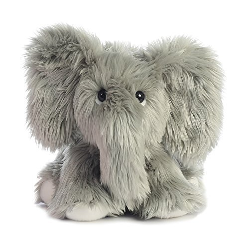 Aurora 0 World Fuzzy L.E. Phant Grey/Small Plush